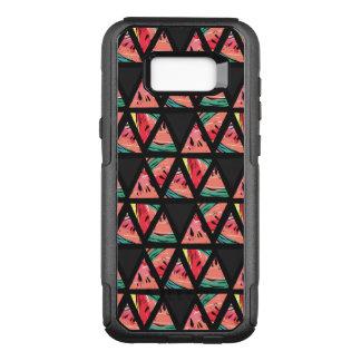 Hand Drawn Abstract Watermelon Pattern OtterBox Commuter Samsung Galaxy S8+ Case