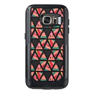 Hand Drawn Abstract Watermelon Pattern OtterBox Samsung Galaxy S7 Case