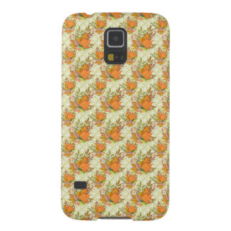 Hand Drawn Autumn Leaves Case For Galaxy S5