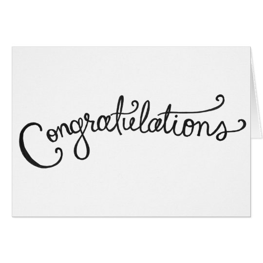 hand-drawn congratulations card