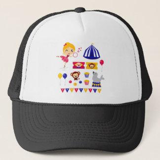 Hand drawn cute Circus edition : Ballerina stuff Trucker Hat