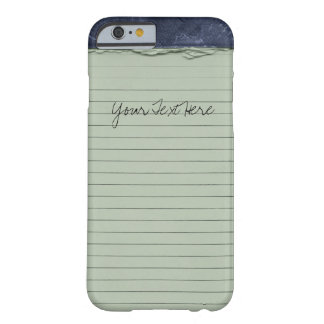 hand drawn doodle note pad barely there iPhone 6 case
