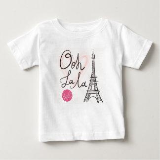 Hand Drawn Eiffel Tower Baby T-Shirt