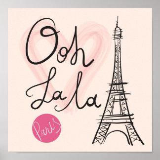Hand Drawn Eiffel Tower Poster