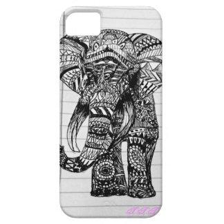 Hand Drawn Elephant Phone Case