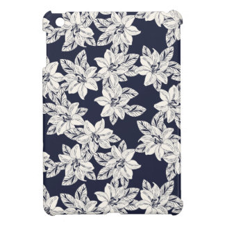 Hand Drawn Flower Case For The iPad Mini