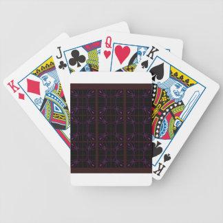 Hand drawn Geometric patterns Arabic Bicycle Playing Cards