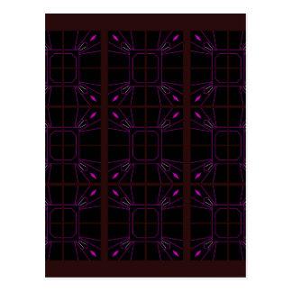 Hand drawn Geometric patterns Arabic Postcard