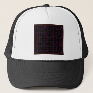 Hand drawn Geometric patterns Arabic Trucker Hat