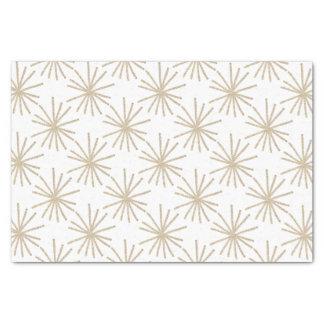 Hand-drawn Golden Stars Giftwrap by NJCO Studio Tissue Paper