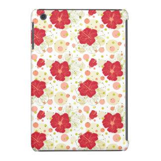 Hand Drawn Hibiscus Pattern iPad Mini Covers