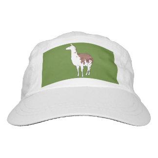 Hand Drawn Llama U-Pick Background Color Hat