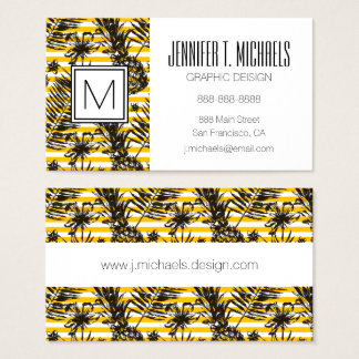 Hand Drawn Pineapples Business Card