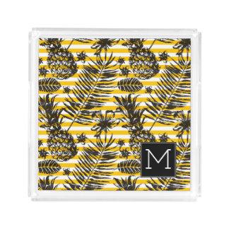 Hand Drawn Pineapples | Monogram