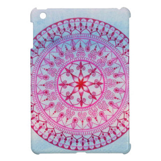 Hand Drawn Pink Mandala iPad Case