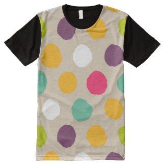 Hand-drawn polka dot pattern All-Over print T-Shirt