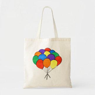 Hand Drawn Rainbow Colored Balloons