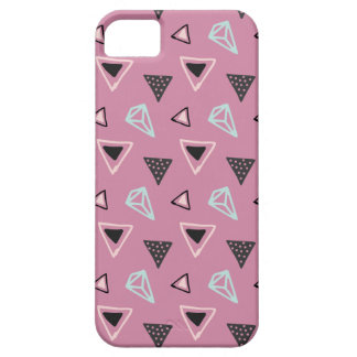 Hand Drawn Shapes Pattern (Customizeable Color!) Case For The iPhone 5