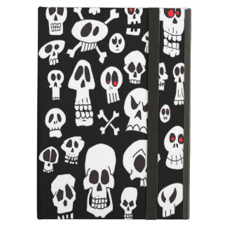 Hand Drawn Skulls Case For iPad Air