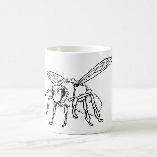Hand Drawn to Bee Coffee Mug