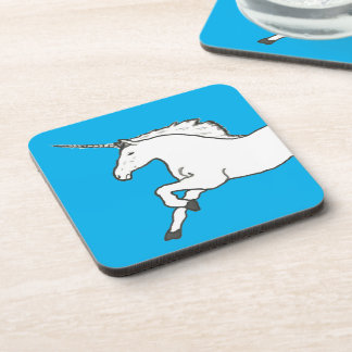Hand Drawn Unicorn Coasters