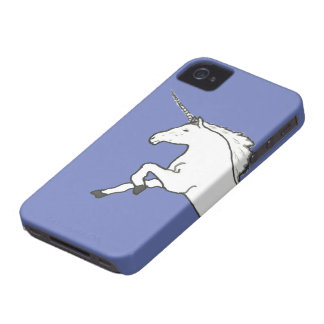 Hand Drawn Unicorn iPhone 4 Cover