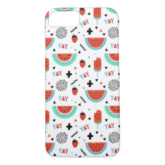 Hand Drawn Watermelon Summer iPhone 8/7 Case
