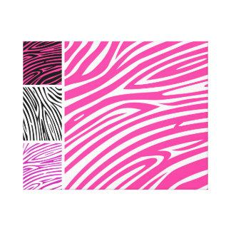 Hand drawn zebra Canvas Canvas Print