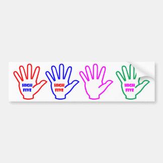 Hand Gesture : EXCELLENT, Outstanding, Great Bumper Sticker