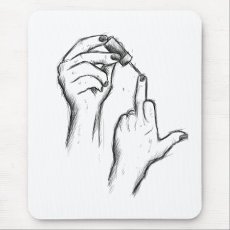 Hand Gesture Mouse pad