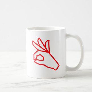Hand Gesture: Outstanding, Excellent Mug