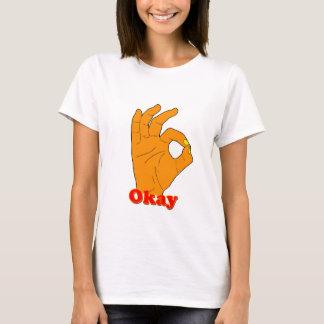 Hand gesturing ok T-Shirt
