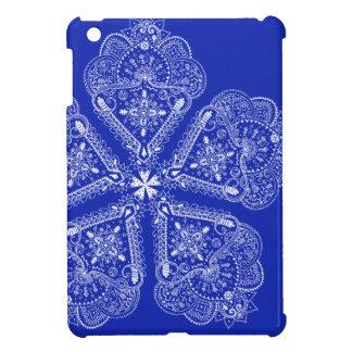 Hand Illustrated Artsy Floral Boho Flower iPad Mini Cover