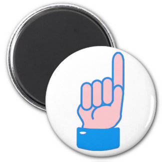 Hand index finger index finger magnet