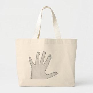 Hand Large Tote Bag