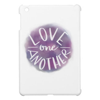 Hand-Lettered Watercolor Bokeh Love One Another Case For The iPad Mini