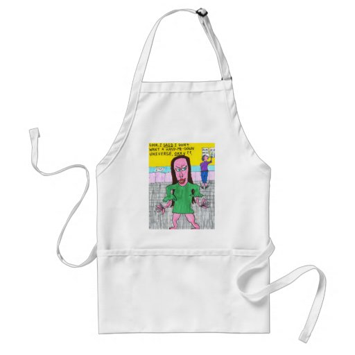 Hand-Me-Down Universe Aprons