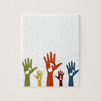 Hand music puzzles