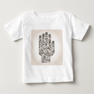 Hand of a part of a body baby T-Shirt