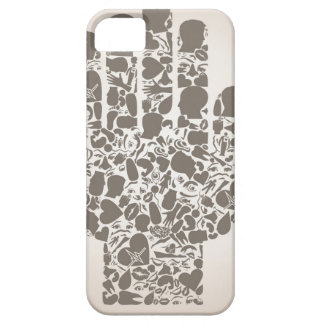 Hand of a part of a body iPhone 5 cases
