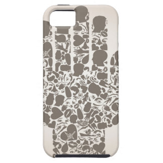 Hand of a part of a body tough iPhone 5 case