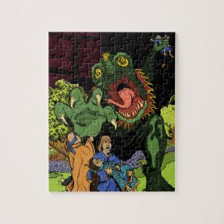 Hand of Death in an Oriental Garden Puzzle