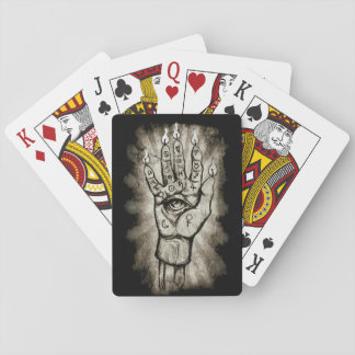 Hand of Glory Playing Cards