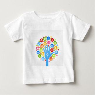 Hand office2 baby T-Shirt