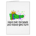 Hand Over The Beads Greeting Card