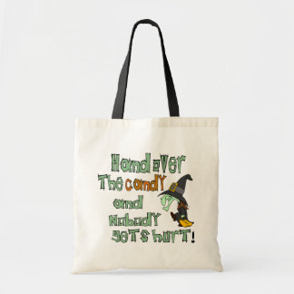 Hand Over The Candy Halloween Tote Bag Budget Tote Bag