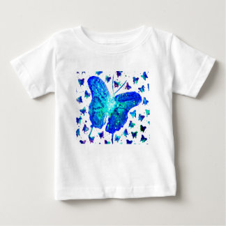 Hand Painted Butterfly Baby T-Shirt