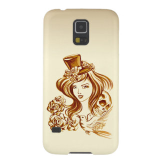 Hand Painted Coffee Art Samsung Galaxy S5 Case