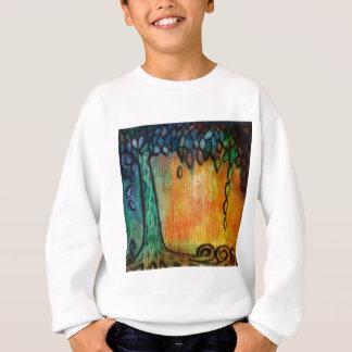 Hand Painted Colorful Tree of Life Sweatshirt
