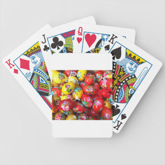 Hand-painted-Easter-eggs Bicycle Playing Cards